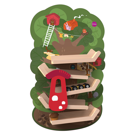 Picture of Oribel® Vertiplay Wall Toy Tree Top Adventure