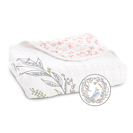 Picture of Aden+Anais® Classic Dream Blanket Birdsong Noble Nest (120x120)