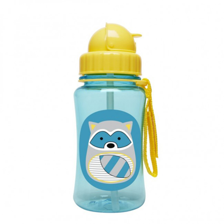 Picture of Skip Hop® Straw Bottle Raccoon
