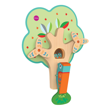 Picture of Oribel® Vertiplay Wall Toy Busy Woodpecker