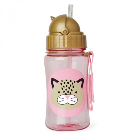 Picture of Skip Hop® Straw Bottle Leopard