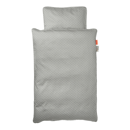 Picture of Done By Deer Balloon Bedlinen Grey - 70x100; 40x45