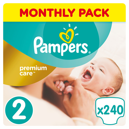 Picture of Pampers® Pants Diapers Premium Care Size 2 (4-8kg) 240 Pcs.