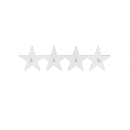 Immagine di Kids Concept® Appendiabiti in legno Star