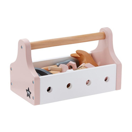 Picture of Kids Concept® Tool Box Star Pink