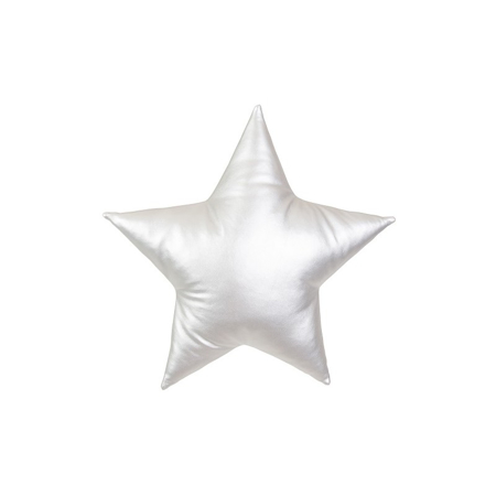 Picture of Cotton&Sweets® Decorative Star Pillow Silver