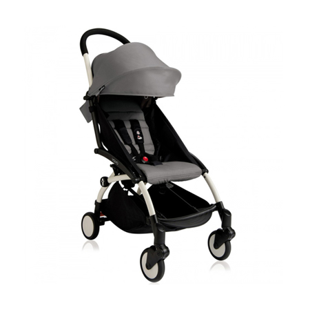 Picture of Babyzen® YOYO+ Baby Stroller 6+ Grey White Frame