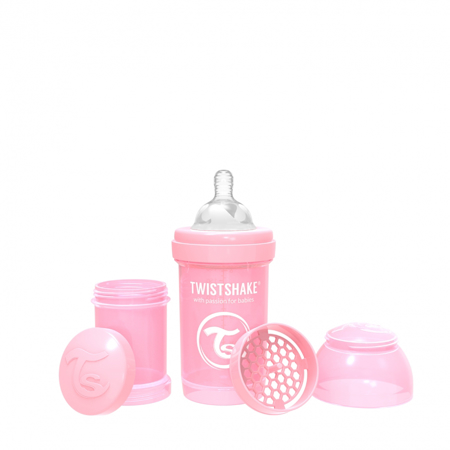Slika Twistshake® Steklenička Anti-Colic 180ml Pastel (0+m)