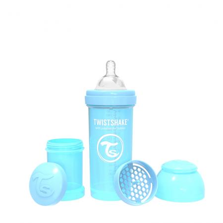 Slika Twistshake® Steklenička Anti-Colic 260ml Pastel (2+m)