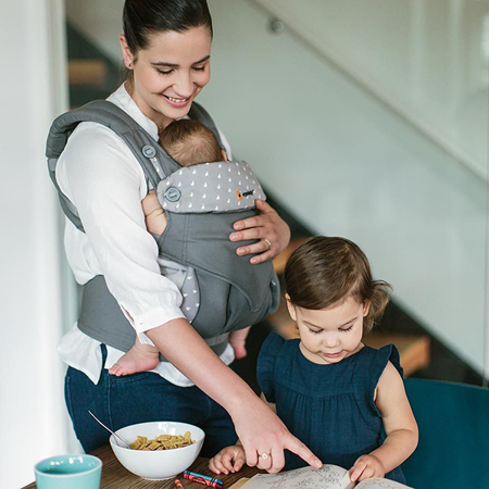 Picture of Ergobaby® 360 Baby Carrier All Carry Positions Dewy Grey