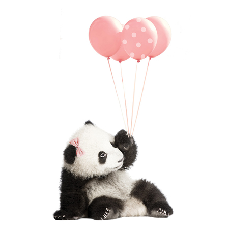 Picture of Dekornik® Stenska nalepka Pink Panda
