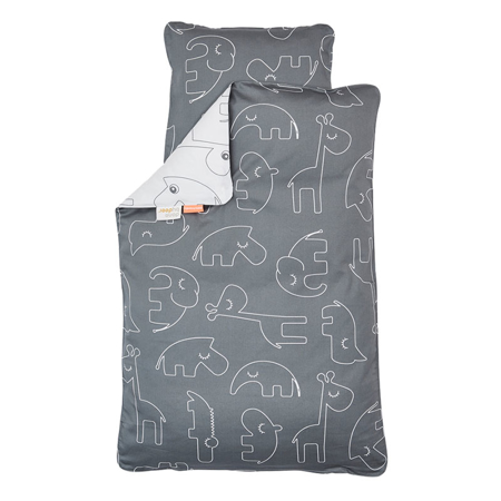 Picture of Done by Deer® Sleepy Bedlinen Grey
