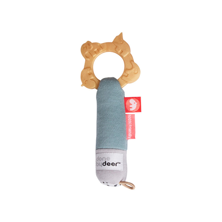 Picture of Done by Deer® Tiny Teething Rattle Deer Friends
