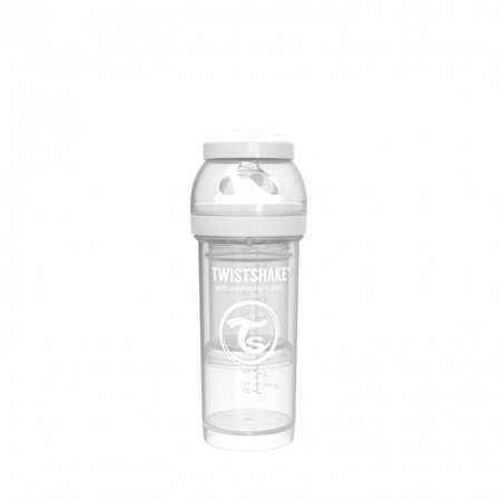 Picture of Twistshake Anti-Colic Bottle 260ml (2+M) - White