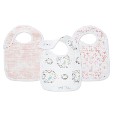 Picture of Aden+Anais® Classic Snap Bib 3-Pack Birdsong