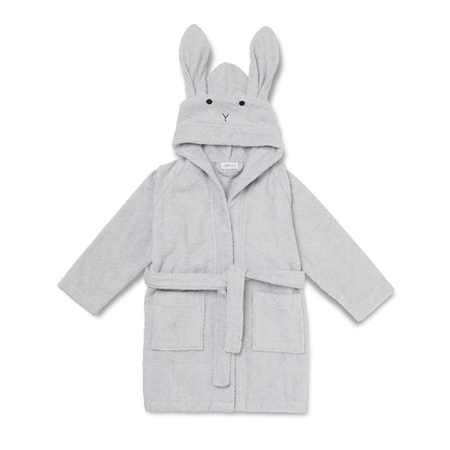 Picture of Liewood® Bathrobe - Rabbit Dumbo Grey