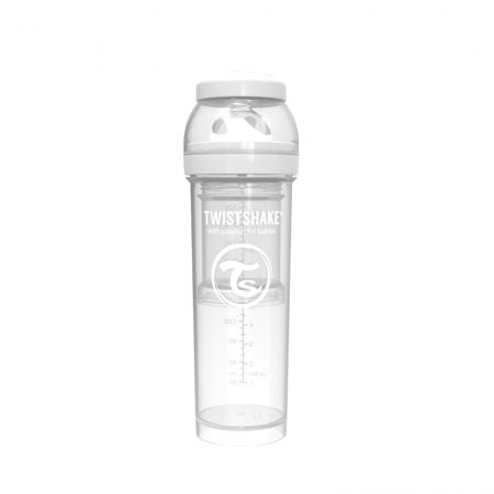 Picture of Twistshake Anti-Colic Bottle 330ml (4+M) - White