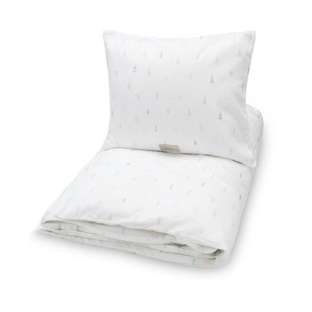 Picture of CamCam® Danish Junior Bedding Raindrops (70x100;45x40)