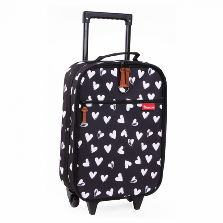 Picture of Kidzroom® Suitcase Black&White Hearts