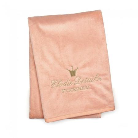 Picture of Elodie Details® Pearl Velvet Blanket Faded Rose