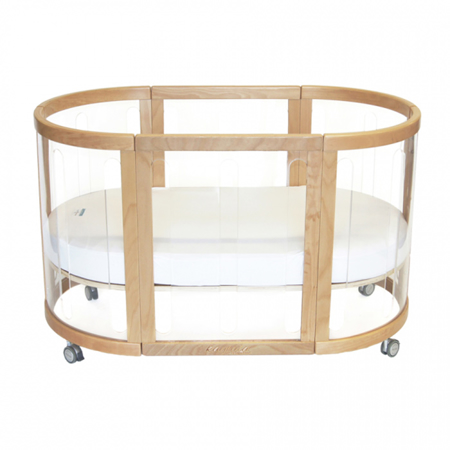 Picture of Babyhood® Kaylula Sova Cot Classic 5in1 Natur