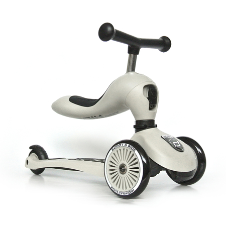 Immagine di Scoot & Ride® Bici senza pedali e monopattino 2 in 1 Highwaykick 1 Ash