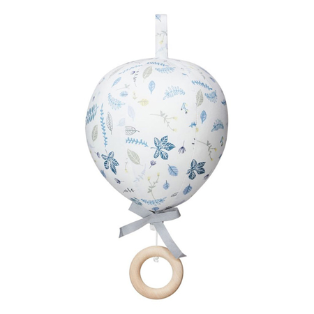Picture of CamCam® Balloon Music Mobile Pressed Leave Blue