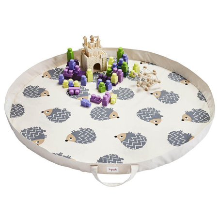 Picture of 3Sprouts® Play Mat Bag Hedgehog