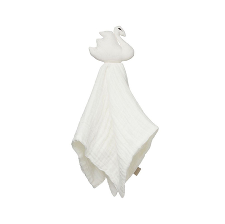 Picture of CamCam® Swan Cuddle Cloth Off-White 26x15