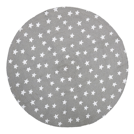 Picture of Bloomingville®  Round Star Carpet