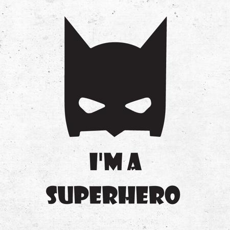 Picture of Pick Art Design® Wall Sticker Super Hero