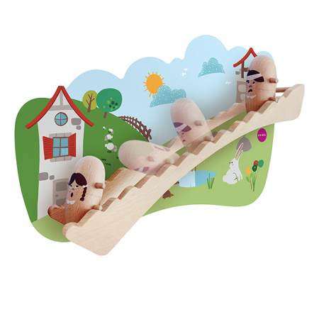 Picture of Oribel® Vertiplay Wall Toy Jack And Jill