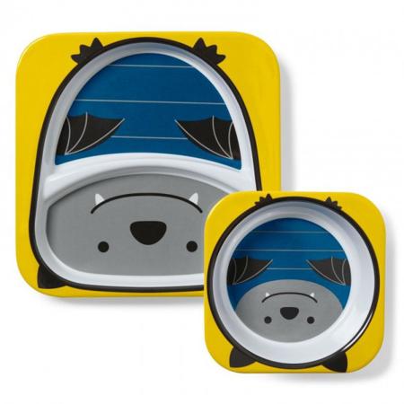 Picture of Skip Hop® Melamine Plate&Bowl Set Bat