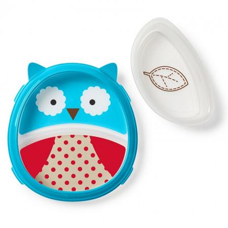 Picture of Skip Hop®  Smart Serve Plate & Bowl Owl