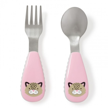 Picture of Skip Hop® Fork&Spoon Leopard