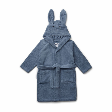 Picture of Liewood® Bathrobe Lily - Rabbit Blue Wave