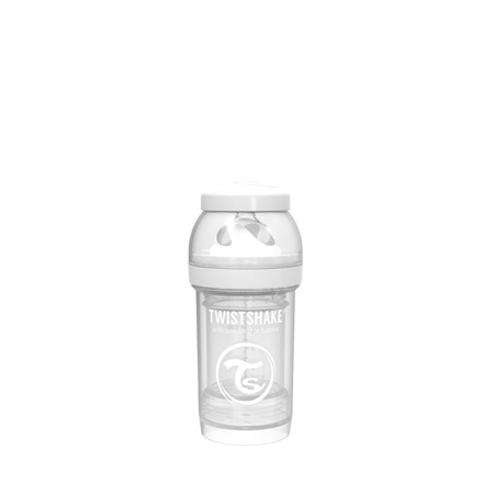 Picture of Twistshake Anti-Colic Bottle 180ml (0+M) - White