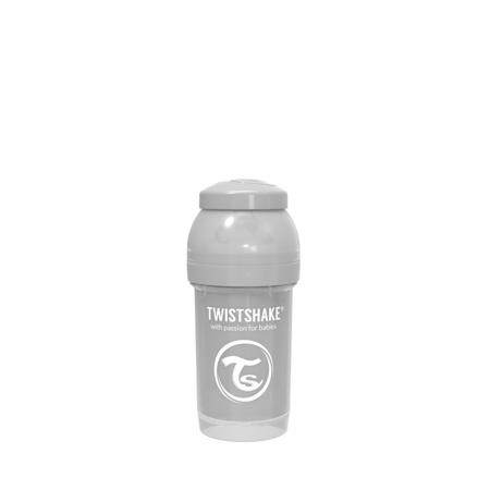 Picture of Twistshake Anti-Colic Bottle 180ml (0+M) - Pastel Grey