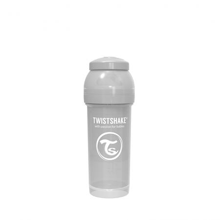Picture of Twistshake Anti-Colic Bottle 260ml (2+M) - Pastel Grey