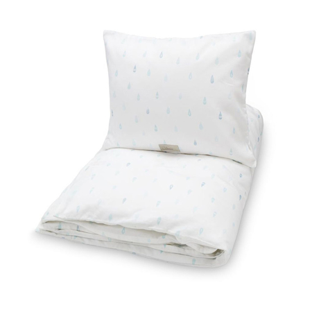 Picture of CamCam® Danish Baby Bedding Raindrops (100x140;45x40)