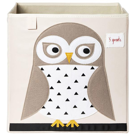 Picture of 3Sprouts® Toy Storage Box Owl
