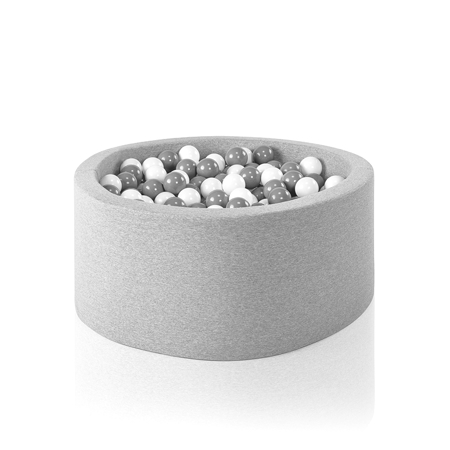 Picture of Misioo® Ball Pit With 200 Balls Light Grey Basic Smart