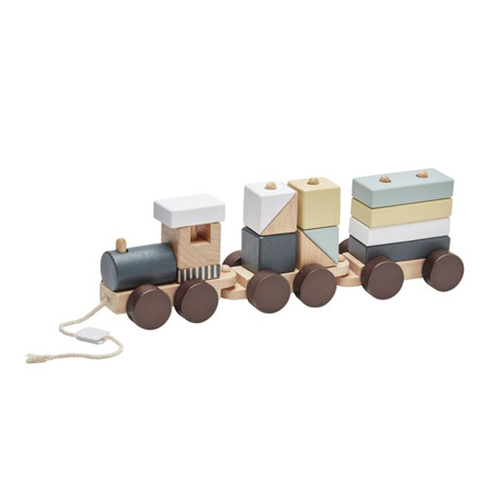 Picture of Kids Concept® NEO Block Train Natural
