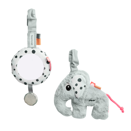 Picture of Done by Deer® Activity Set To Go Grey