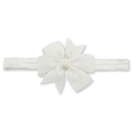 Elastic Bowknot White