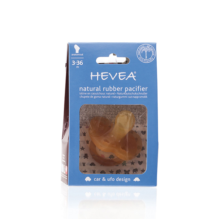 Picture of Hevea® Anatomical Car&Ufo Pacifier