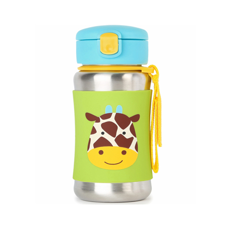 Picture of Skip Hop® Stainless Steel Kids Straw Bottle Giraffe