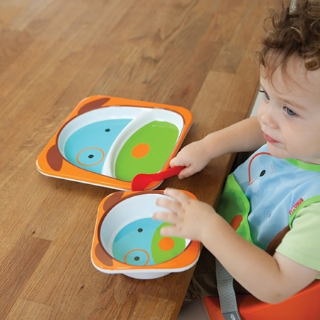 Picture of Skip Hop® Melamine Plate&Bowl Set Puppy