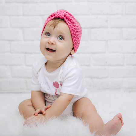Picture of Knitted Headband Pink