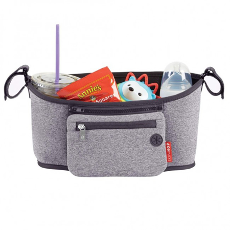 Skip Hop® Grab&Go Stroller Organizer Heather Grey
